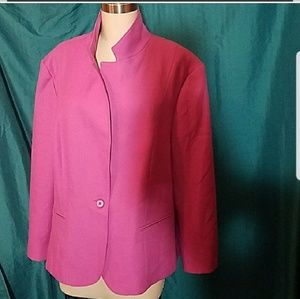 Jackets & Blazers - Bubble Gum Color Blazer [Not Hot Pink]